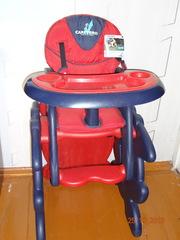 Продам новый стульчик-трансформер для кормления Caretero Primus