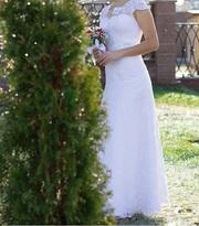 Продам свадебное платье,  в отличном состояние. Было одето 1 раз.190$
