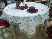 Текстиль для дома: скатерти,  салфетки и подарки из натурального льна