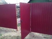 Заборы,  ворота ,  калитки и любые металоконструкции из металопрофиля