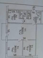 СРОЧНО! продажа трехкомнатной квартиры, центр, СЛУЦК, Ул.ЛЕНИНСКАЯ
