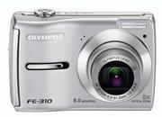 Цифровая фотокамера Olympus 8 пикс.,  5Х оптич. зум.